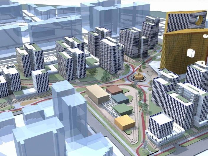Общественно - жилой комплекс