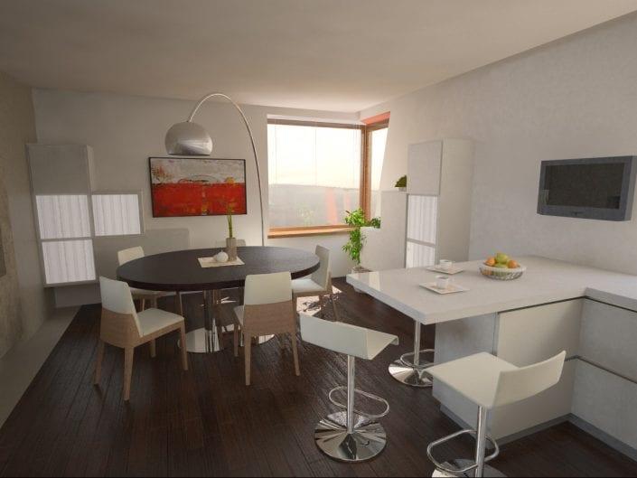 Home interior design in Miškonys